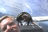Two Glider Pilots in a Glider