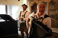 Accordion Player Rocks the Crowd